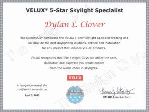 Velux_certificate_Dylan