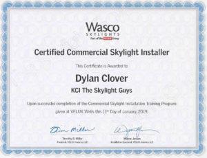 Wasco_certificate_Dylan