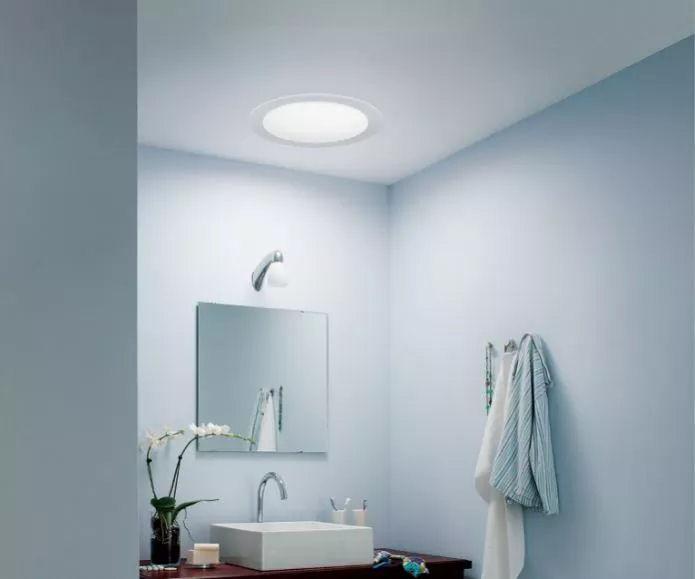 Sun Tunnel Brightened-Up Guest Bath